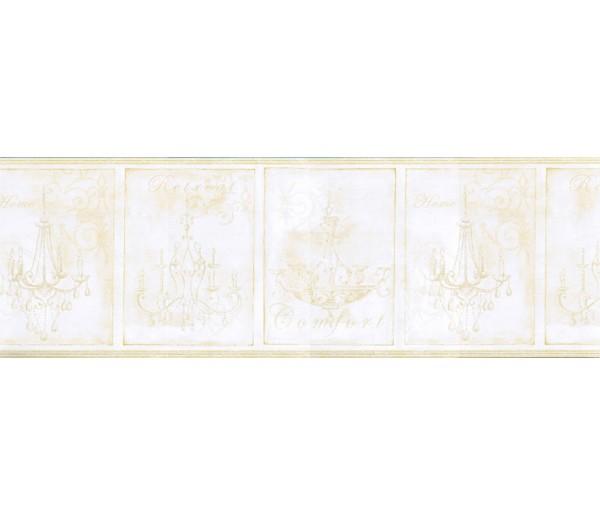 Clearance: Chandeliers Wallpaper Border KD8103B
