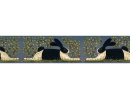 Rabbits Wallpaper Border KD8104B