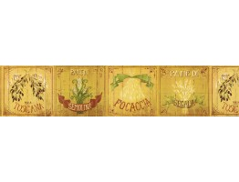 Kitchen Wallpaper Border KD8109B