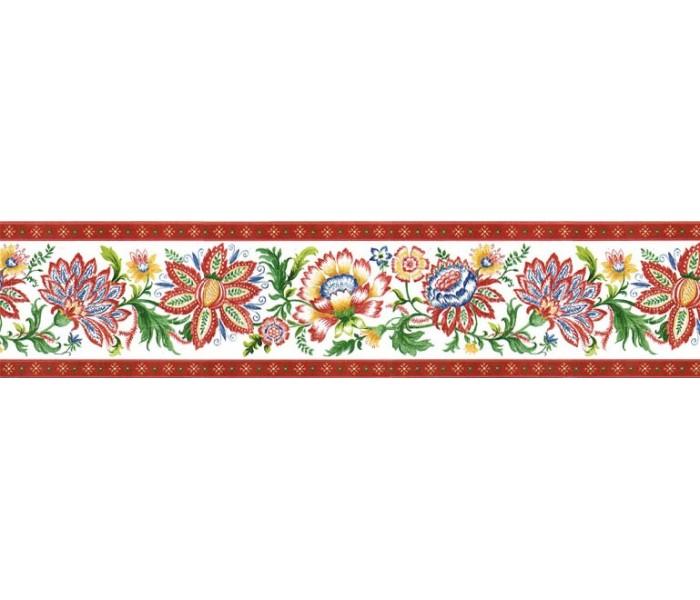 Floral Wallpaper Borders: Floral Wallpaper Border KD8124B