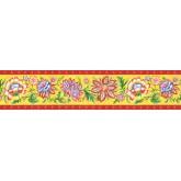 Clearance: Floral Wallpaper Border KD8125B