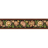 Clearance: Floral Wallpaper Border KD8126B