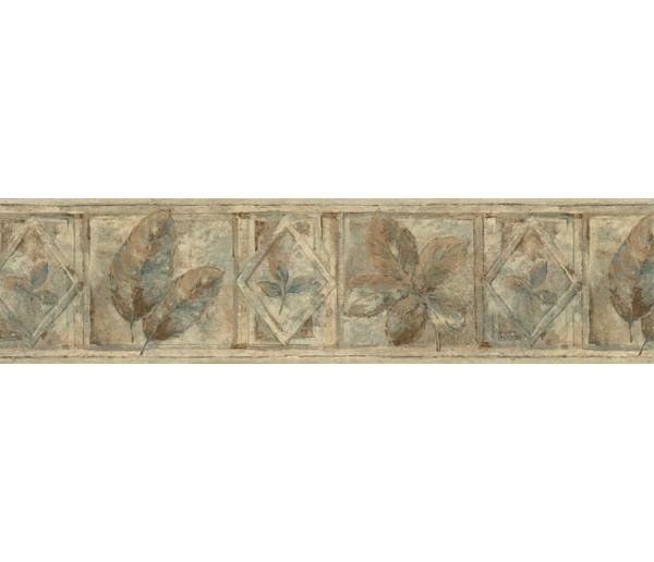 Garden Wallpaper Borders: Leaves Wallpaper Border FF8304B