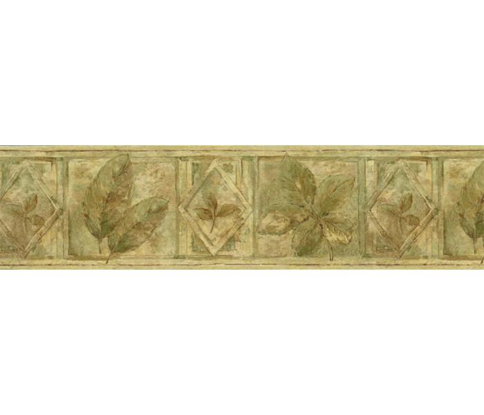 Garden Wallpaper Borders: Leaves Wallpaper Border FF8305B