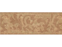 Prepasted Wallpaper Borders - Contemporary Wall Paper Border B830VC