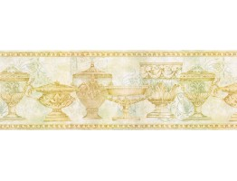 Prepasted Wallpaper Borders - Kitchen Wall Paper Border FF8313B