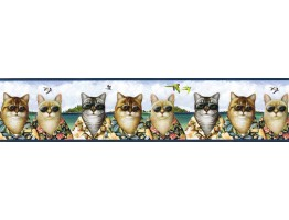 Cats Wallpaper Border KLB8424B