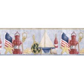 Sea World Borders Sea World Wallpaper Border TRY8731 Imperial Home Decor Group,Inc