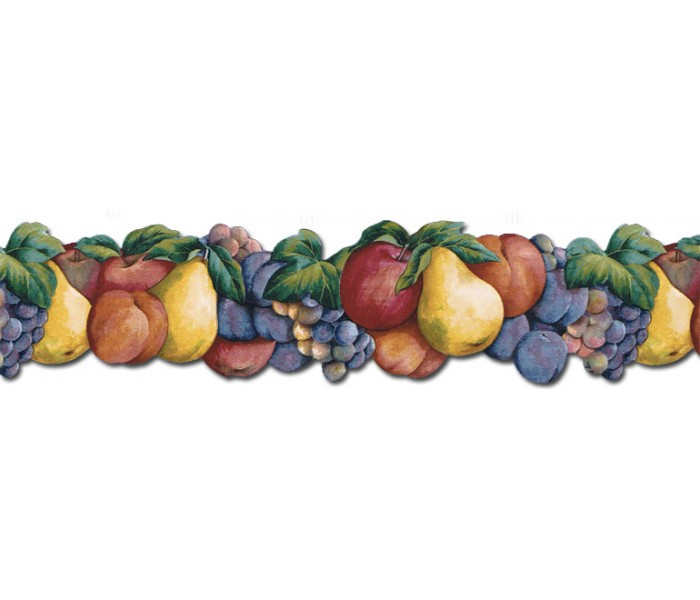Clearance: Fruits Wallpaper Border BH88008B
