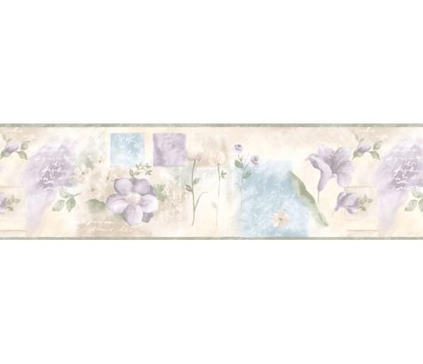 Floral Wallpaper Borders: Floral Wallpaper Border BH88019B