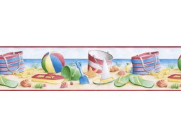 Beach Wallpaper Border BH89000B