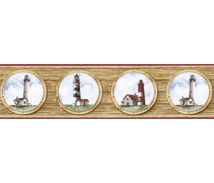 Lighthouse Wallpaper Borders: Light House Wallpaper Border BH89022B