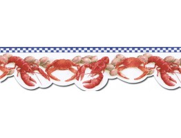 Crab Wallpaper Border BH89024DB