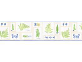 Floral Wallpaper Border FL90014B