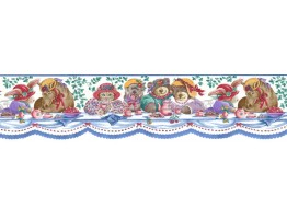 Prepasted Wallpaper Borders - Animals Wall Paper Border JS9032B