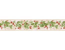Prepasted Wallpaper Borders - Cherry Wall Paper Border RKB9108B