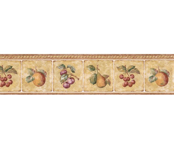 Clearance: Fruits Wallpaper Border GS96005B