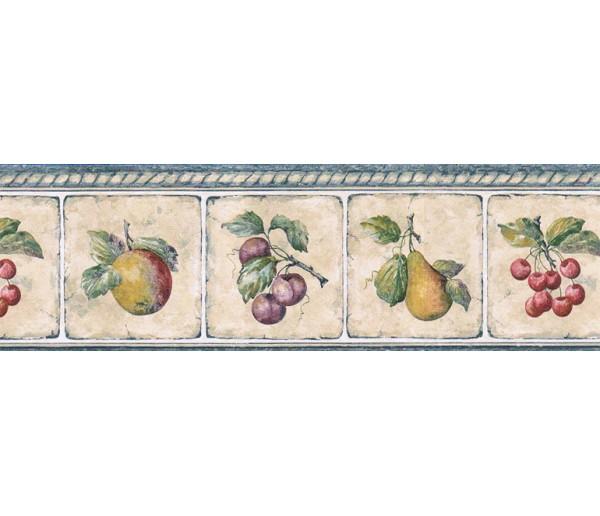 Clearance: Fruits Wallpaper Border GS96007B