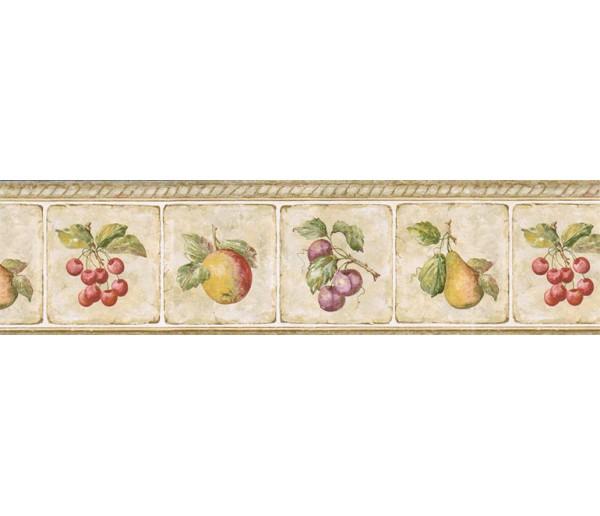 Clearance: Fruits Wallpaper Border GS96008B