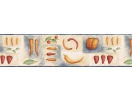 Vegetables Wallpaper Border GS96015B