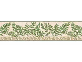 Prepasted Wallpaper Borders - Leafs Wall Paper Border GS96017B