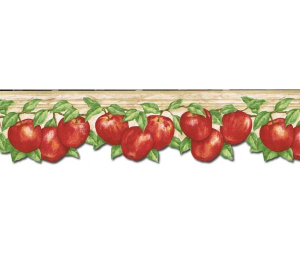 Apple Fruits Wallpaper Border GS96027DB