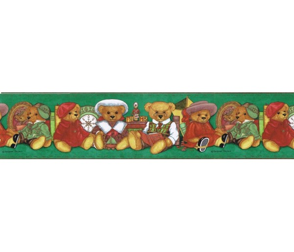 Clearance: Animals Wallpaper Border b98122