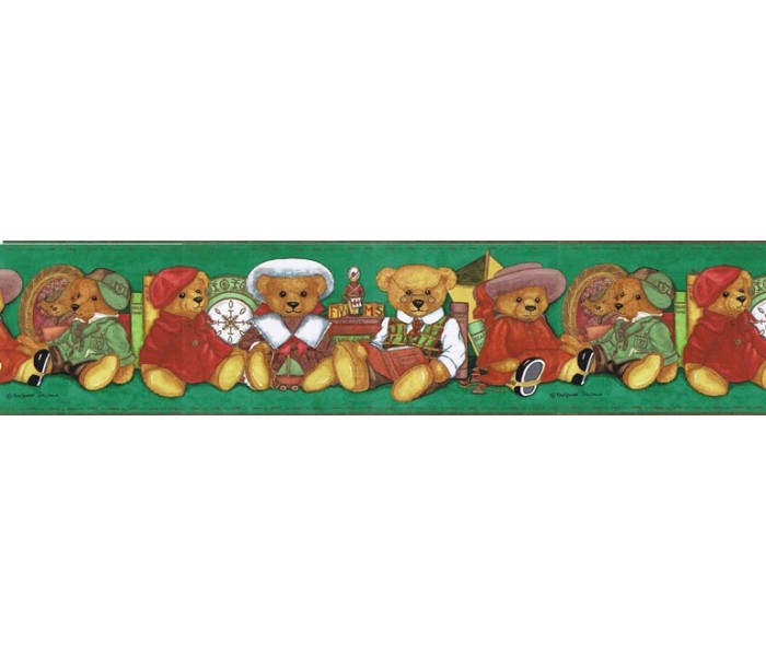 Clearance: Animals Wallpaper Border b98122