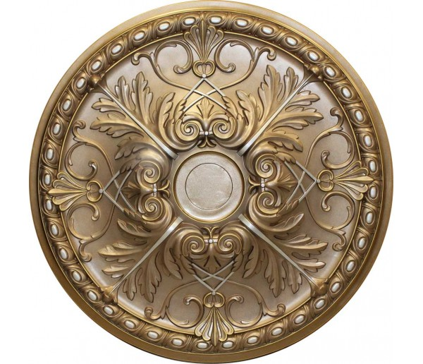 Ceiling Medallions: MD-9088 Faded Gold Ceiling Medallion