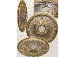 Ceiling Designs  - MD-9088 Faded Gold Ceiling Medallion