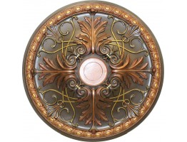 Ceiling Designs  - MD-9088 Fall Bronze Ceiling Medallion