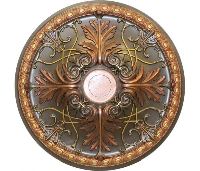 Ceiling Medallions: MD-9088 Fall Bronze Ceiling Medallion