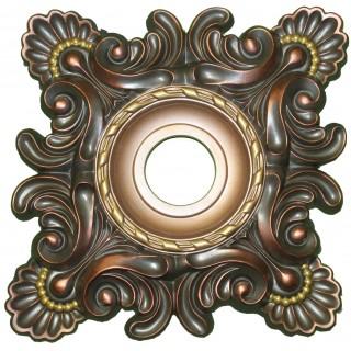 Ceiling Designs  - MD-5032 Burnt Gold Ceiling Medallion