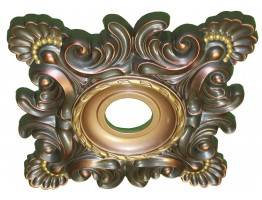 Ceiling Designs  - MD-5032 Burnt Gold Ceiling Medallion