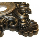 Ceiling Medallions: MD-5032 Oil Rubbed Bronze Ceiling Medallion