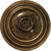 Ceiling Medallions: MD-7008 Oil Rubbed Bronze Ceiling Medallion