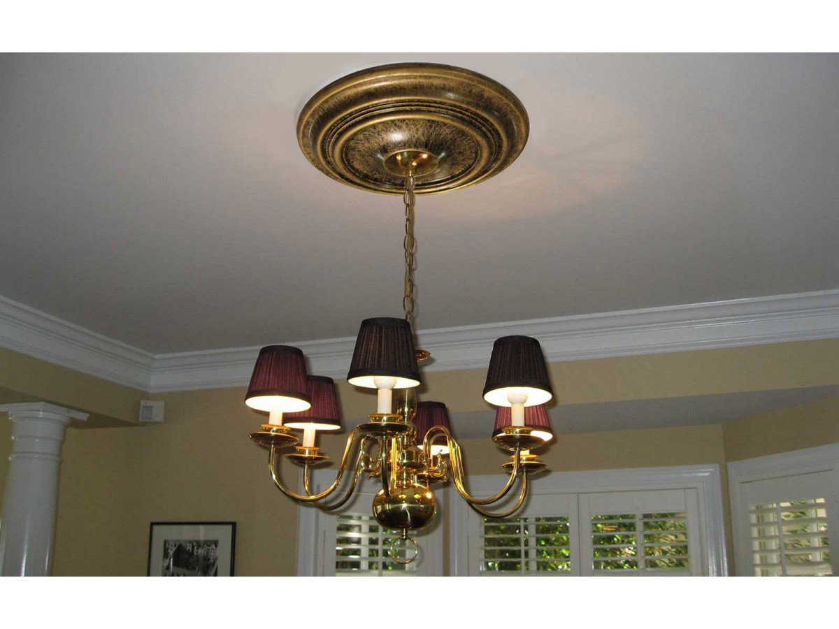 Md 7008 Oil Rubbed Bronze Ceiling Medallion