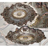 Ceiling Medallions: MD-7021 Aged Bronze Ceiling Medallion