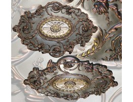 Ceiling Designs  - MD-7021 Aged Bronze Ceiling Medallion
