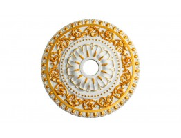 Ceiling Designs  - MD-7047 Gold Highlight Ceiling Medallion