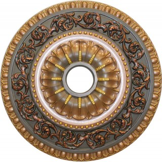 Ceiling Designs  - MD-7047 Fall Bronze Ceiling Medallion