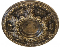 Ceiling Designs  - MD-7060 Oil-Rubbed Bronze Ceiling Medallion
