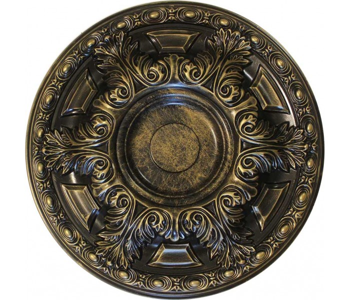 Ceiling Medallions: MD-7060 Oil-Rubbed Bronze Ceiling Medallion
