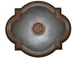 Ceiling Designs  - MD-7073 Oil Rubbed Bronze Ceiling Medallion