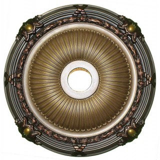 Ceiling Designs  - MD-7086 Golden Fall Ceiling Medallion