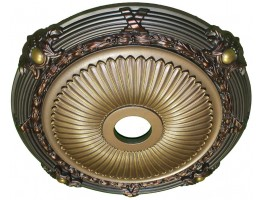 Ceiling Designs  - MD-7086 Golden Fall Ceiling Medallion