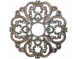 Ceiling Designs  - MD-7099 Pewter Ceiling Medallion