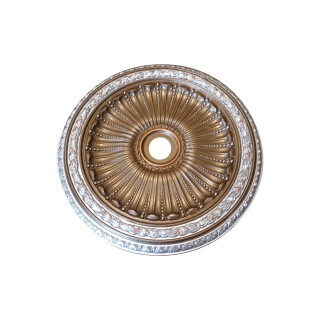 Ceiling Designs  - MD-9036 Patina Bronze Ceiling Medallion
