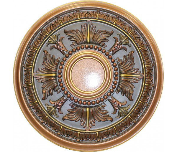 Ceiling Medallions: MD-9049 Fall Copper Ceiling Medallion