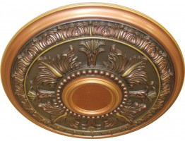 Ceiling Designs  - MD-9049 Fall Copper Ceiling Medallion